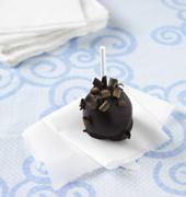A Double Chocolate Cake Pop Stock Photos