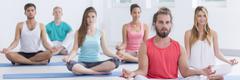 Achieving mind-body balance Stock Photos