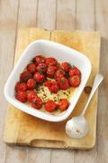 Roasted cherry tomatoes Stock Photos