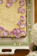 Mazurek (Easter cake with layers of jam and buttercream, Poland) Stock Photos