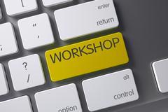 Workshop Keypad. 3D Illustration Stock Illustration