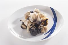 Cooked turret snails (Asia) Stock Photos