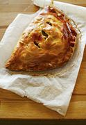 Filled pastry parcels Stock Photos