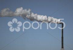 Smoke stack Stock Photos