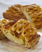 Apple strudel with honey Kuvituskuvat