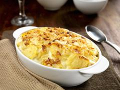 Gratin dauphinois Stock Photos