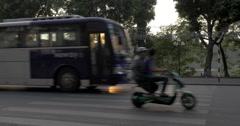 Transportation in Hanoi, Vietnam Stock Footage