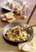 Scotch Woodcock (scrambled egg with anchovies and capers, Scotland) Kuvituskuvat