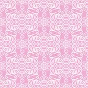 Ornamental Seamless Pattern. Laser Cut Template Piirros