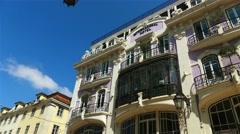 Rua Aurea , Lisbon, Portugal Stock Footage
