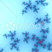An illustration of an abstract fractal graphic Stock Photos