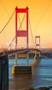 Bridge sunset Stock Photos