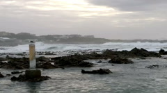 Sunrise over the coast of South Africa Stock Footage