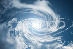 Moving cloud swirl Stock Photos