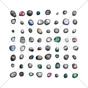 Gem stones Stock Photos