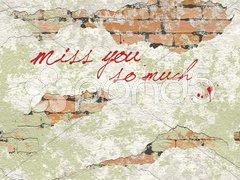 Miss you Stock Photos