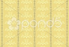 An illustration of an old vintage wallpaper Stock Photos