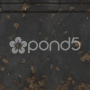 An illustration of a rusty metal plate texture Stock Photos