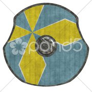 Viking shield Stock Photos
