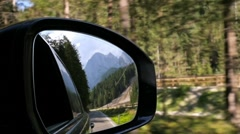 Traveling by car. Motion. Car on the road Stock Footage