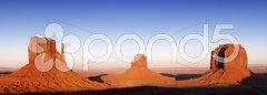 Monument Valley - Three Stock Photos