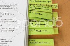 Lehrbuch Stock Photos