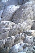 Wasserfall aus Stein Stock Photos