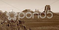 Monument Valley Vintage Stock Photos