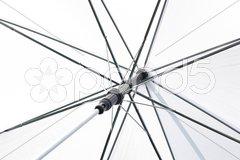 Weißer Schirm Stock Photos