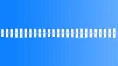 Alarm Wrist Watch Travel Alarm Close Up Rapid Plusing Beeps Has A Slight Sense Sound Effect