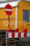 Bauwagen Stock Photos