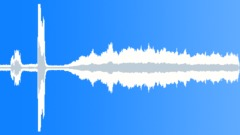 Ambience Backgrounds Drawbridge Lower Continued From FX 028_A Huge Metal Groans Sound Effect