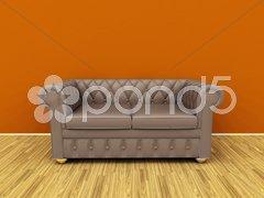 Old sofa Stock Photos