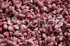 Steinstruktur rot Stock Photos