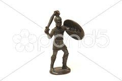 Römerfigur Stock Photos