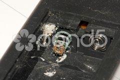 Batteriefraß Stock Photos