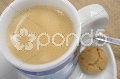 Tasse Kaffee Kaffeetasse Espresso Stock Photos