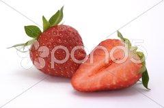 Erdbeere Frucht rot Stock Photos