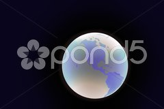 Juwel Planet Erde Stock Photos