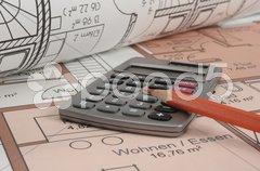 Architektur Bauplan Stock Photos