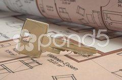 Schlüssel Hausschlüssel Stock Photos