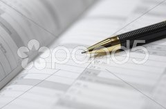 Kalender Termin Zeitplaner Stock Photos