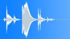 Miscellaneous Bucket Plastic Moves Tumble Sound Effect