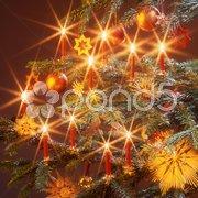 Weihnachtsschmuck Christbaum Weihnachtsbaum Stock Photos
