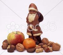 Weihnachten Nikolaus Weihnachtsmann Stock Photos