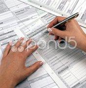 Steuer Finanzamt Stock Photos