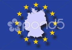 Deutschland BRD Bundesrepublik Europa Stock Photos