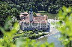 Kloster Weltenburg Donau Stock Photos