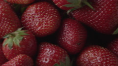 Ripe strawberries Stock Footage