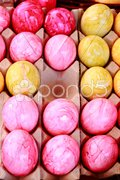 Ostern Ostereier Stock Photos